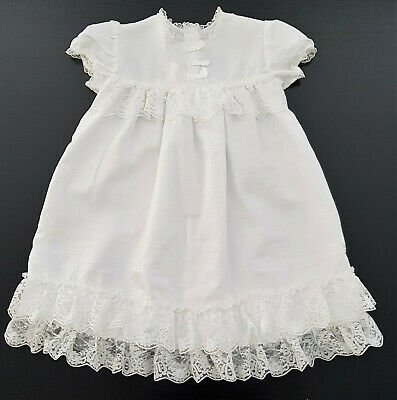 White Satin & Lace Special Occasion Dress, Excellent Condition, Size 0