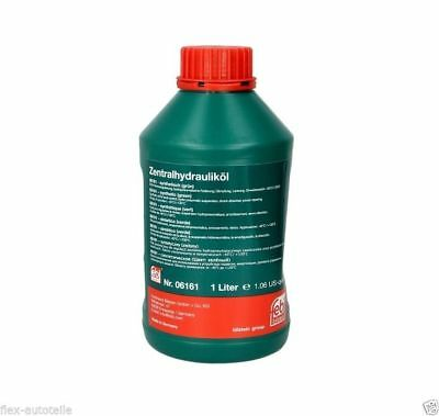 Febi 06161 1l Central Hydraulic Oil Servo (Green) VW Seat Audi Skoda