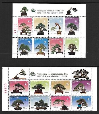 PHILIPPINES Sc 2915-16 NH issue of 2004 - BONSAI TREES