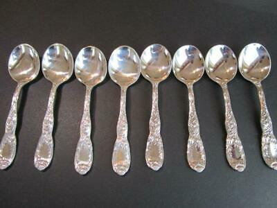 "1*Chrysanthemum By Tiffany & Co. Sterling Silver Flatware Soup Spoon 6 5/8""Mint*"