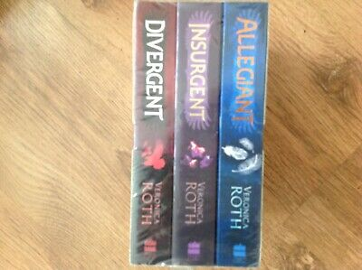 The Divergent Series Sealed Box Set By Veronica Roth