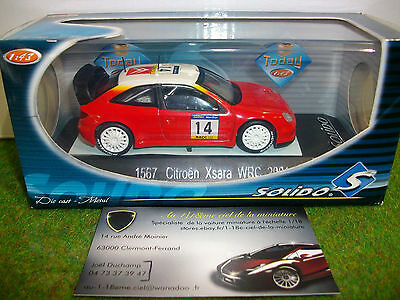 CITROËN  XSARA WRC 2001 # 14 au 1/43 SOLIDO 1567 voiture miniature de collection