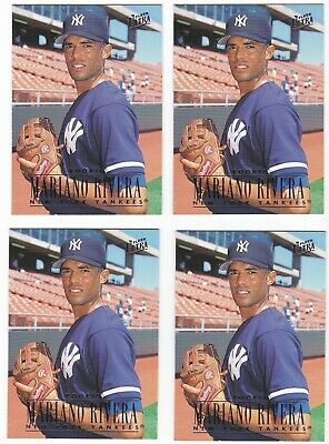 Mariano Rivera Yankees 1996 Ultra Rookie Card 105 Rc Lot Of 4
