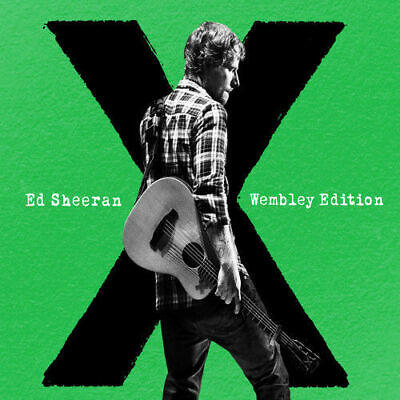 X : Ed Sheeran Wembley Edition - (CD) W or W/O CASE EXPEDITED includes CASE