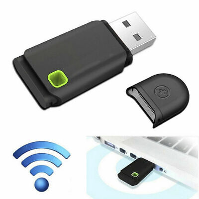 300Mbps USB Wireless WiFi Network Receiver Card Adapter For Desktop PC Laptop