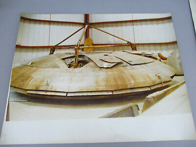 Vintage Flying Saucer Poster AVRO US Army Military Secret UFO Avrocar 1960s