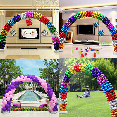 Balloon Column Arch Base Upright Pole Display Stand Wedding Party DIY Accessory