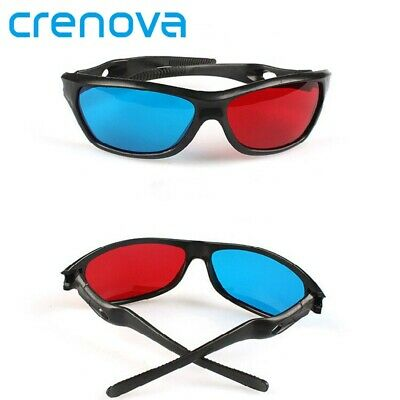 CRENOVA red and blue 3D glasses VR glasses projector home theater accessories HD