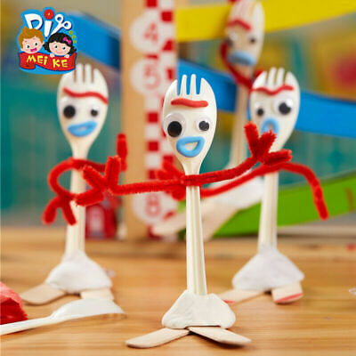 Forky Toy Story 4 Make Your Own Kit Ideal Present Or Party Bag Filler Toy Gifts