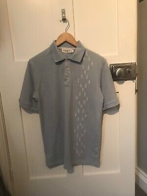 Ysl Yves Saint Laurent T Shirt / Top , Baby / Light Blue . Repeated Print