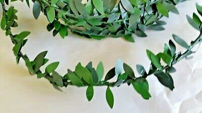 Garland green x 3.5 metres approx. Xmas Dolls House Miniatures Crafts F2905