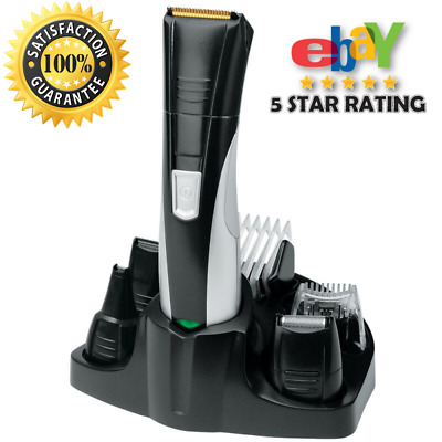 Remington PG350 Rechargeable Nasal Nose Ear Hair Trimmer Shaver Grooming Kit