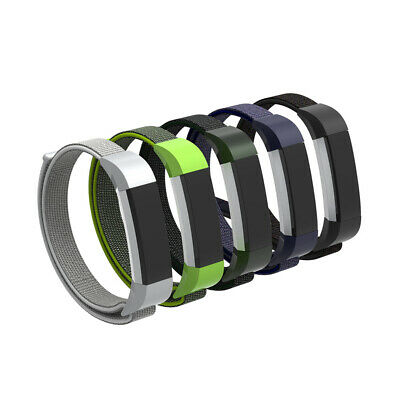 For Fitbit Alta/HR/Ace!Many Colors Woven Nylon Large/Small Wrist Band Strap Loop