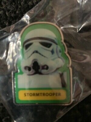 Star Wars 2017 40th Anniversary Disney Pin CHASER LE 1500 Stormtrooper
