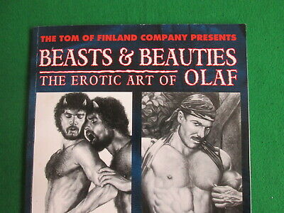 Tom Of Finland - Beasts & Beauties - Art Of Olaf - 1996 Book