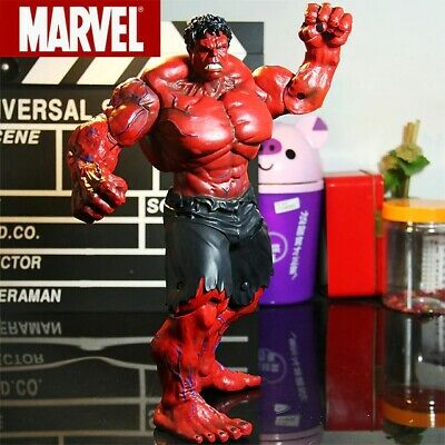 Marvel Legends The Avengers Incredible Red Hulk Action Figure Collectible Model