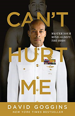Home Book Cant Hurt Me Master Your Mind and Defy by David Goggins Hardcover NEW