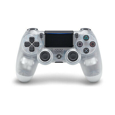 DualShock 4 Wireless Controller for PlayStation 4 - Crystal [Brand New]