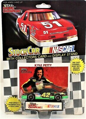 Racing Champions 1991 Stock Car Nascar Kyle Petty #42 Scale 1:64 Free Shipping