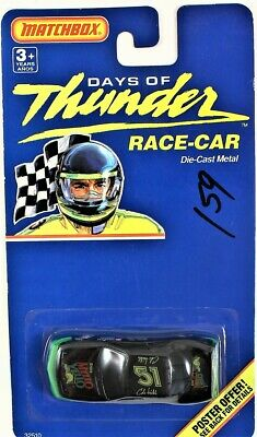 MATCHBOX DAYS OF Thunder Race Car Challenge 2 Pack - $15 00