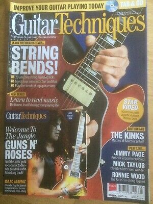 Guitar Techniques magazine & CD: August 2014