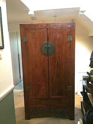 19th century antique Chinese wardrobe
