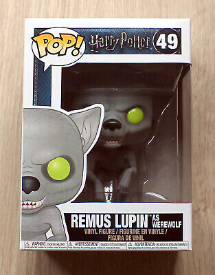 Funko Pop Harry Potter Remus Lupin As Werewolf + Free Protector