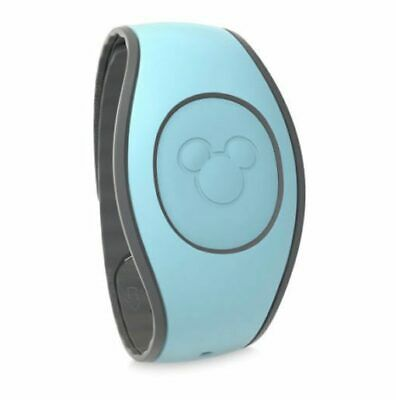 Disney Parks Light Teal Turquoise Solid Color Magic Band Magicband NIP
