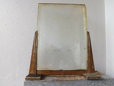 1930s ART DECO CHROME & GLASS PICTURE PHOTO PHOTOGRAPH FRAME