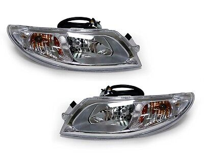 For Headlight Headlamp Pair International Truck 4100 4200 4300 4400 8500 8600
