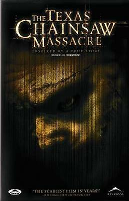 The Texas Chainsaw Massacre (DVD, 2004, Canadian)