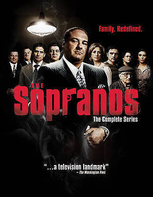 The Sopranos - The Complete Series (Blu-ray Disc, 2014, 28-Disc Set) NEW