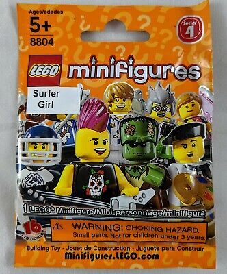 LEGO 8804 Collectible Minifigures Series 4 - Surfer Girl (Factory Sealed)