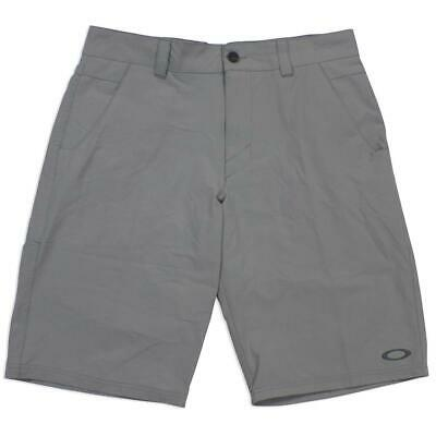 Oakley Take 2.5 Mens Size 32 M Stone Gray Casual Dress Shorts Walkshorts