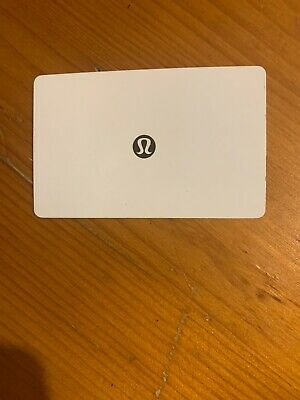 $77 lululemon gift card