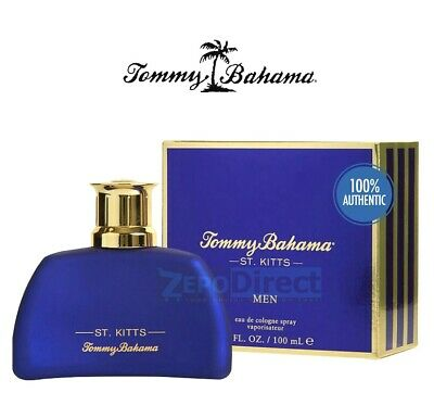 ⭐️⭐️⭐️⭐️⭐️ Tommy Bahama St. Kitts Eau De Cologne Spray for Him, 3.4 oz. NEW