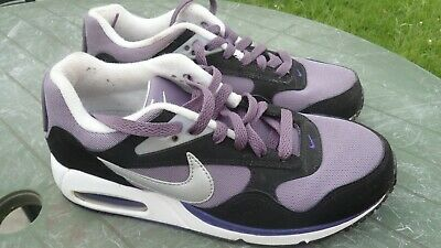 Details about Women's Nike Air Max Correlate Sz 7 Shoes #511417 153 White Purple Turquoise