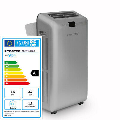 TROTEC PAC 3550 PRO Climatiseur local climatiseur portable max. 3,5 kW/16000 BTU