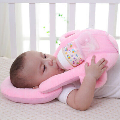 Baby Newborn Head Care Nursing Pillow Feeding Bottle Holder Safety Pad Comfort