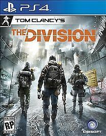 Tom Clancy's The Division (Sony PlayStation 4, 2016) DISC IS MINT