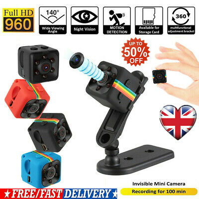 Mini HD Camera Wireless 1080P Home Security Night Vision Motion Detection UK HOT