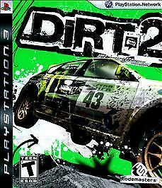 DiRT 2 (Sony PlayStation 3, 2009) DISC IS MINT