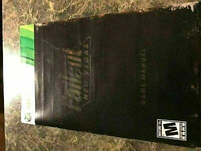 Fallout New Vegas - Xbox 360 - Instruction Manual Only
