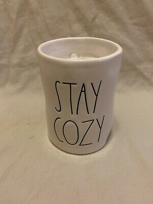 New Rae Dunn By Magenta STAY COZY Candle