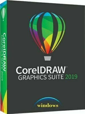 PROMO ! Corel Draw Graphics Suite Illustration 2019 X7/8/10 SEALED 30s delivery