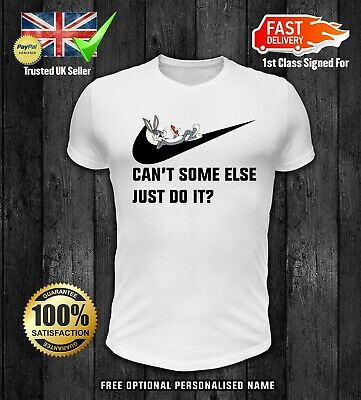 Bugs Bunny T Shirt Cant Someone Else Just Do It Bunny Inspired KIDS BOYS GIRLS