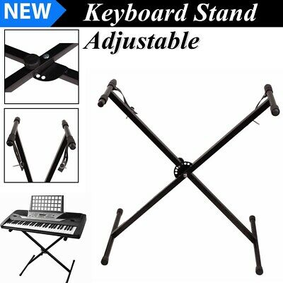 Keyboard Piano X Stand Electric Organ Rack Adjustable For 61 76 Key Portable