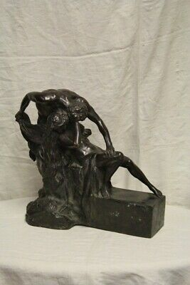 Carlo Fait (1877-1968) 'the Prey ' Bronze, 1934 / Model Bronze/Sculptures