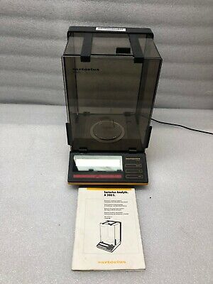 Sartorius A200S Analytical Lab Weighing Scale Balance w Glass Draft Shield