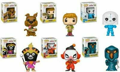 Funko Pop Animation Scooby Doo 50 Years Complete Set/6 Scooby Shaggy & Ghosts